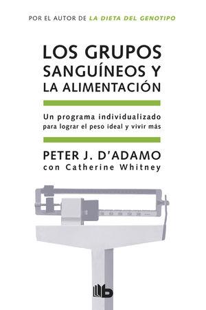 LOS GRUPOS SANGUÍNEOS Y LA ALIMENTACIÓN bolsillo