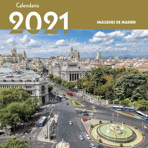 CALENDARIO IMÁGENES DE MADRID 2021