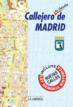 CALLEJERO DE BOLSILLO DE MADRID