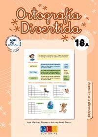 ORTOGRAFÍA DIVERTIDA 18A
