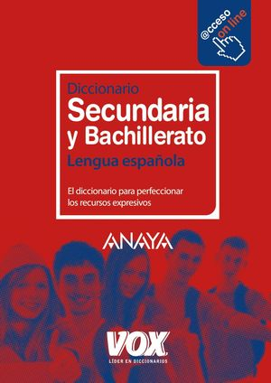 Diccionario  Secundaria y Bachillerato Anaya 2011
