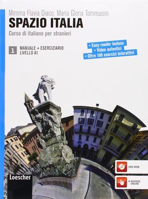SPAZIO ITALIA LIVELLO A1 MANUALE 1+ESERCIZIARIO 1+DVDROM 1
