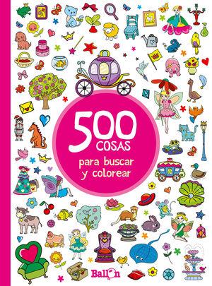 500 COSAS PARA BUSCAR Y COLOREAR-ROJO