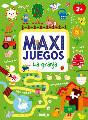 MAXI JUEGOS - LA GRANJA +3