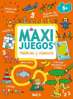 MAXI JUEGOS - PALABRAS Y NÚMEROS +5